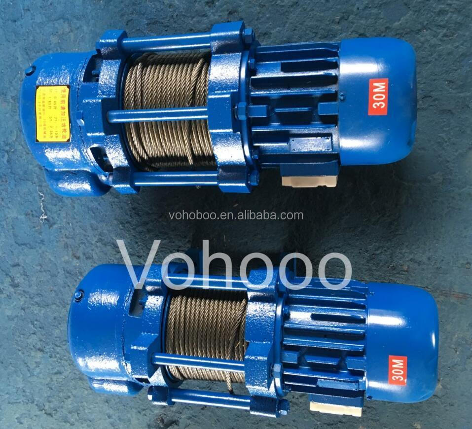 electric mini lifting winch 1000kg for good sales