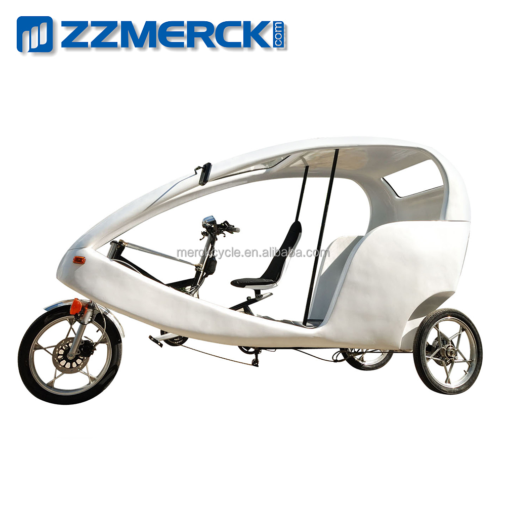 Unique Design 3 Wheel Transport Vehicle Similar to Velo Taxi Bike
