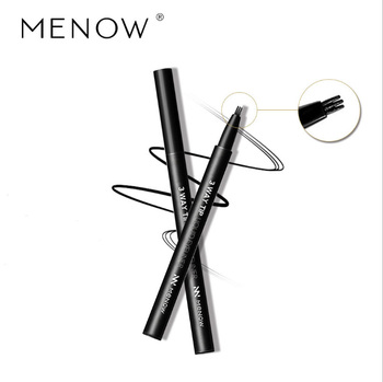 Menow EL02 Cosmetics 3 Head Makeup Liquid Eyeliner