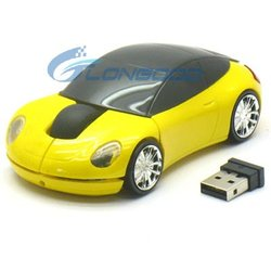 Shenzhen supply car shape wireless mouse