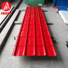Galvanized Corrugated Steel Sheet curved corrugated roof panel