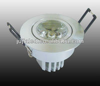 led candle light remote control, 3W LED Downlight& Ceiling lighting