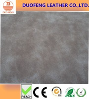 100% PU synthetic nubuck leather for shoes