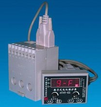 HTHY-63 5-60A LCD display Overlaod Underload Electronic Motor Current Protection And Relay