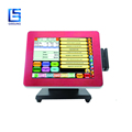 Brushed Alumnium Shell 12 Inch Cheap Pos Machine/linux Pos Terminal Touch Screen