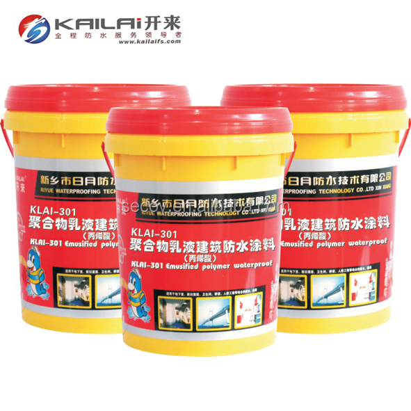 Polymer emulsion architectural acrylic acid waterproof roof coating