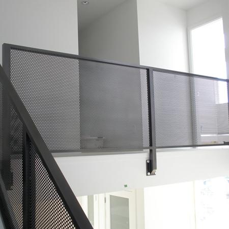 Expanded metal Mesh Aluminum Interior Railing ( Anping factory )