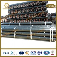 DI Pipe with Cement Lining and Zinc+Bitumen Coating for Class of C25, C30, C40 and K9