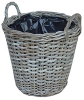 Kubu Rattan Basket Grey