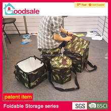 New style multipurpose storage cooler folding box suitable travel picnic pad collapsible stool