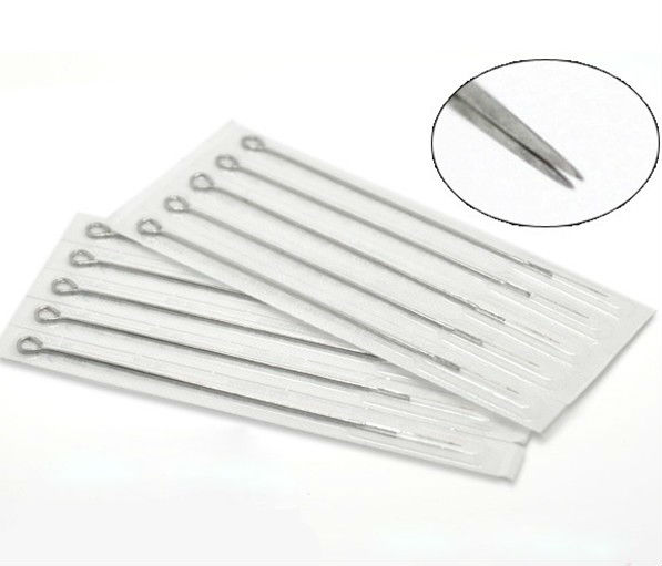 Round liner tattoo needles disposable tattoo needle with sterilization