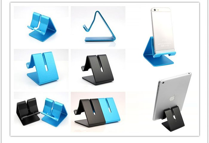 2016 High Quality Colorful Aluminium Metal Mobile Phone Tablet PC Stand Holder