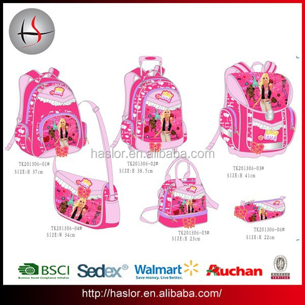 Fashion School bags Primary Kids School Bags for Girls