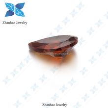 jewelry setting fashional cutting directly selling cz beads pear cut stone