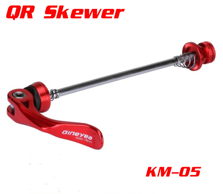 Anodized CNC Machined Cr-Mo bicycle quick release QR skewer