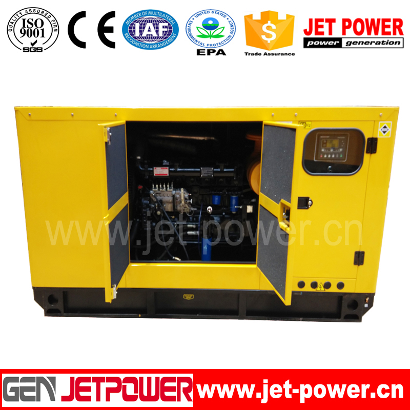 40kva silent diesel generator set small size diesel generator to qatar with factory price