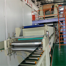 corrugated roof fiber sheet making machine iron board production line
