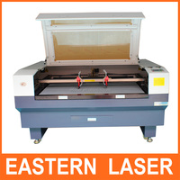 2015 high Speed double head Fabric laser cutting machine co2 Laser Cutting Machine