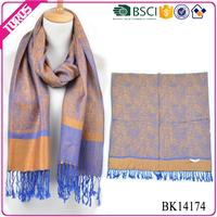 OEM custom softlight weight cheap pashmina shawls