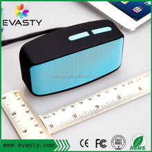 2017 hot sale portable mini square bluetooth speaker box with USB function