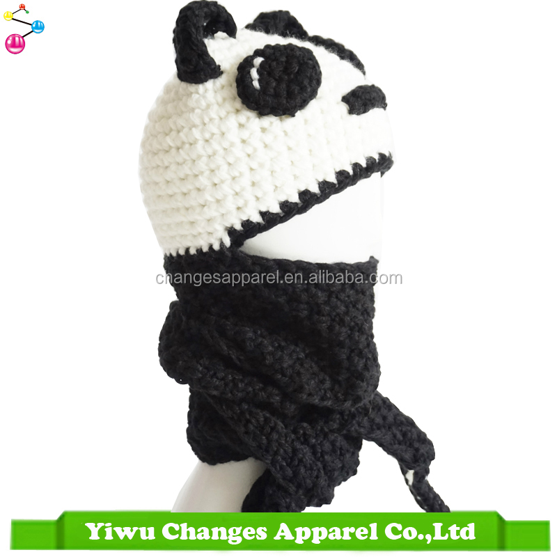 Wholesale Alibaba Animal Patterns Children Funny Knitted Hat