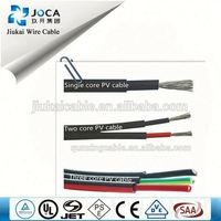 Cables for 100kw solar power system 2x25mm dc solar cable