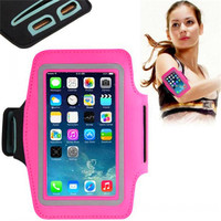 Hot sell Mobile Phone Armbands Gym Running Sport Waterproof Arm Band Cover Protector Phone Bag Cover for iPhone 6 4.7inch