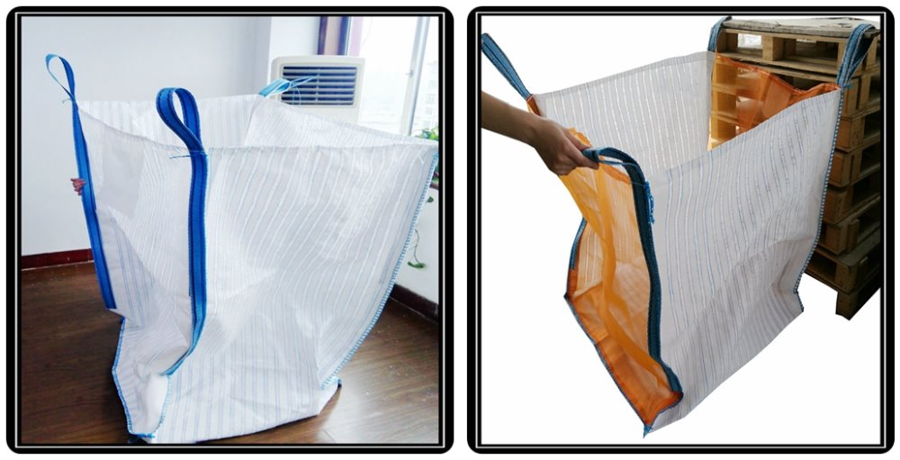 100% polypropylene 1 ton big bag for agriculture transport