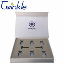 Factory price different types gift packaging box with magnetic closure