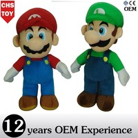 CHStoy red super mario stuffed toys
