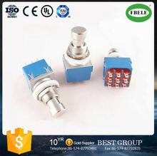 PBS-3PDT 9 feet push button switch Guitar switch Foot push button high temperature resistance ROHS switch(FBELE)