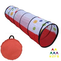 High quality tunnel indoor or outdoor kids play tunnel for kids