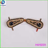 2015 Hot Sale Design Rhinestone Beads Shoes Clip,Decoration Shoese Buckle For High Heel
