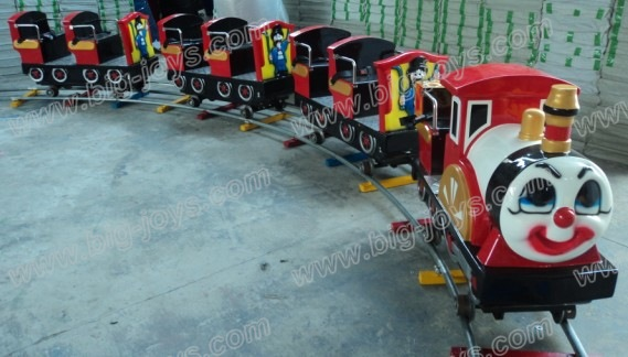 Carnival kids amusement outdoor games electric train ride