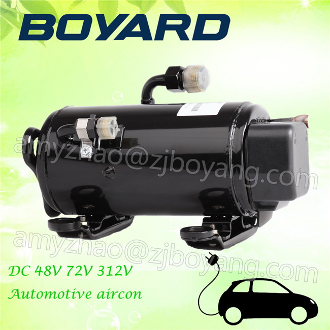 BOYARD <strong>R134a</strong> electric vehicle 72V <strong>ac</strong> <strong>compressor</strong> for Automotive Electric Vehicle air conditioning unit