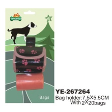 pet dog waste bag with dispenser grooming product