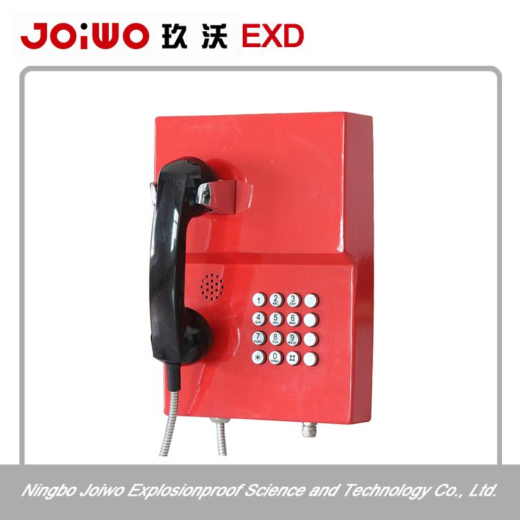 military telephone with coiled cable analog telephone handset with high quality