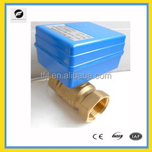 DC12V ,DC24V Mini Brass 2way dn25 solenoid valve appliance whit actuator