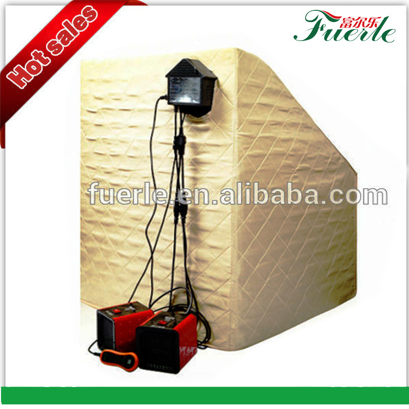 hot new product 2017 fuerlel computer control panel ir steam room infrared portable sauna