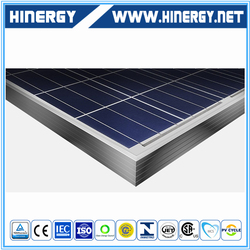 China PV manufacturer a grade positive power tolerence poly solar panel with factory price