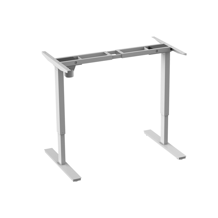 Best selling ergonomic crank sit stand table desk base