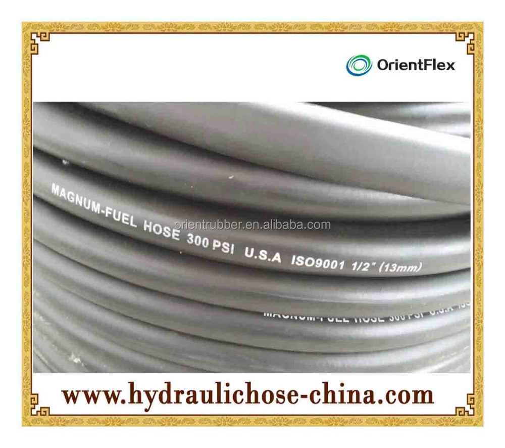 rubber oil resistant hose and fuel hose