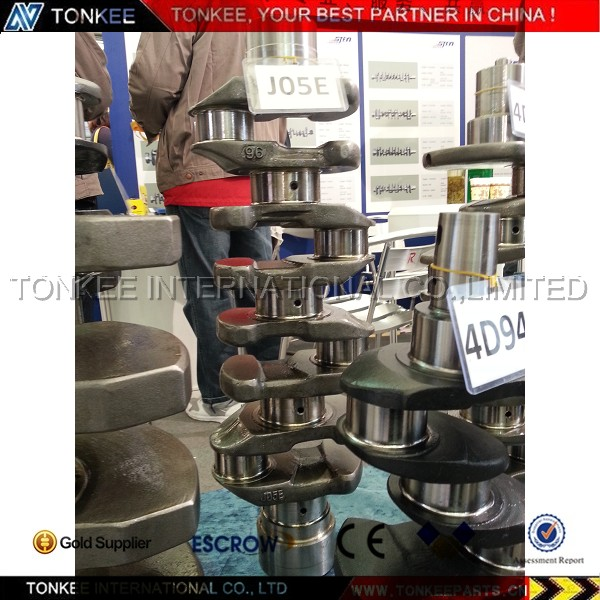 KOBELCO excavator  SK200-8 HINO J05E engine crankshaft.jpg