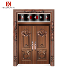 New design anti-noise stainless steel exterior door double