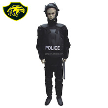 Flame retardant material police hard explosion proof clothing