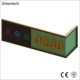 Beautiful Shaped Wall Corner Smart Electric OEM Doorplate, Guest Room Door Open Number Signs