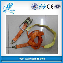 1 1/2'' cam buckle motorcycle tie down strap, truck cargo lashing straps