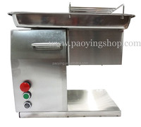 250KG/H Stainless Steel 2.5mm-25mm Customized Blade 110v 220v Electric Industrial Fresh Meat Slicer