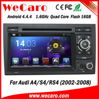 "The highest version Capacitive screen for audi a4 7"" android tablet double din car 2002-2008 dashboard GPS navigator TV"