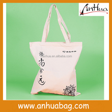 China manufacturer recyclable cotton shopping bag